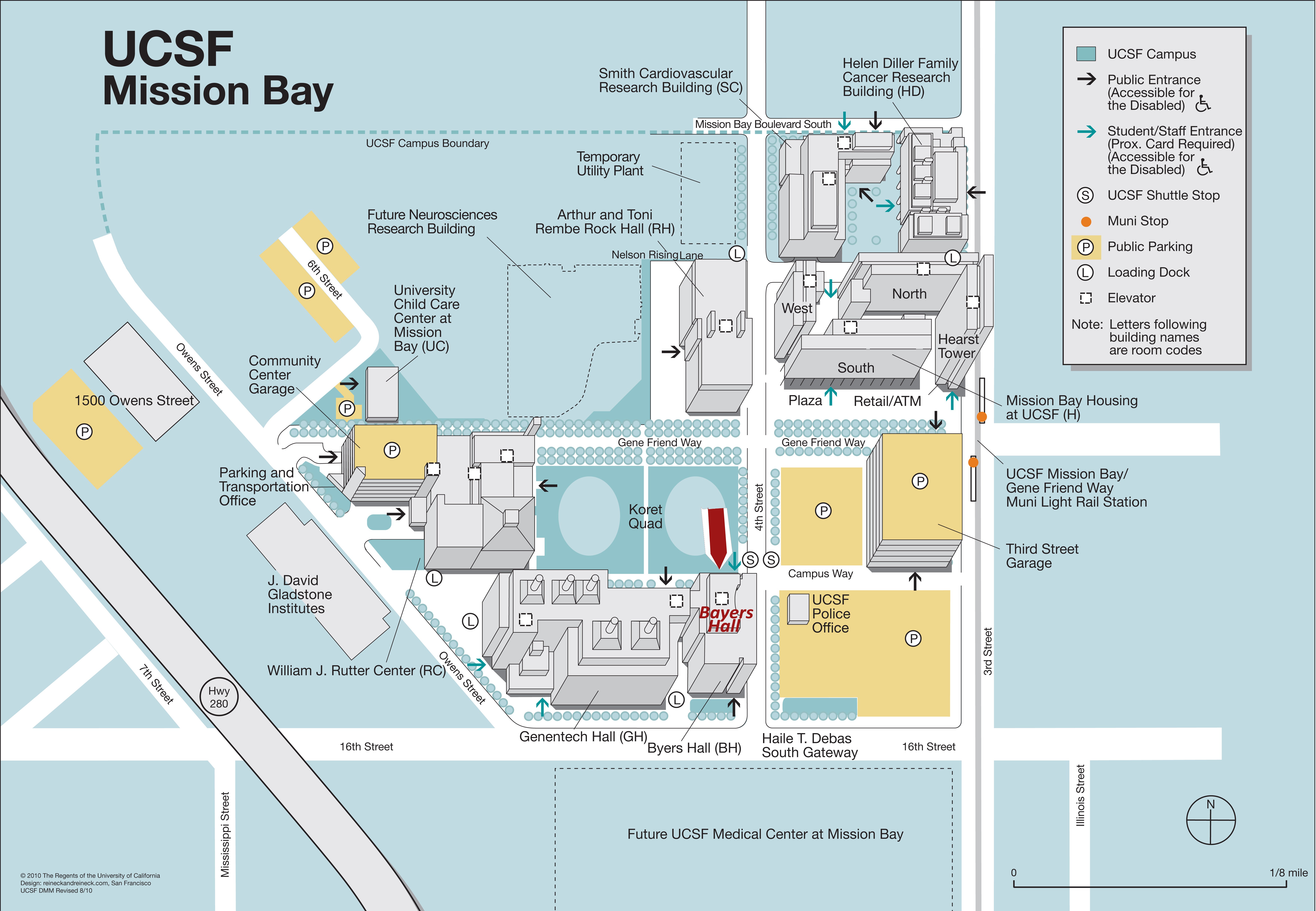 Ucsf Mission Bay Campus Map | Global Map